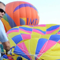 Clear skies, perfect flying at Lewiston hot air balloon festival
