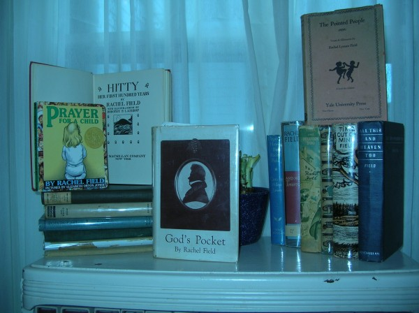 A small sampling of Rachel Field's books.