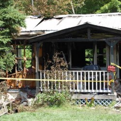 Dog wakes owner then dies in St. Albans fire