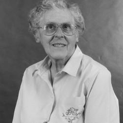 Virginia Glidden photographed in 1992.