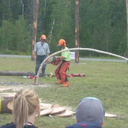 Loggers descend on Maine to take on tests of skill