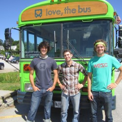 Three Lincolnville friends plan cross-country trip 'Love, the Bus' for charity
