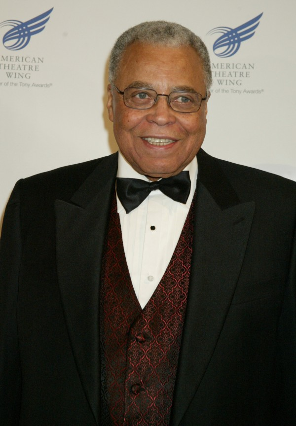 James Earl Jones is shown in New York, in this April 11, 2005 file photo.