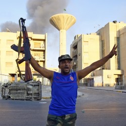 Will Libya's dictatorship fall?
