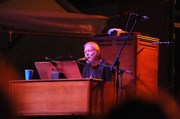 Gregg Allman performs Aug. 7 in downtown Johnstown, Pa.  Allman has canceled his concert tour from Aug. 26 to Sept. 15 for medical reasons. (AP Photo/Dave Lloyd/The Tribune-Democrat)