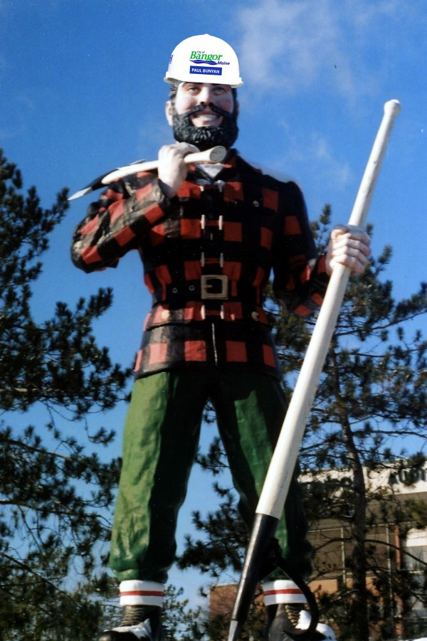 Paul Bunyan To Oversee Arena Project — User Submitted — Bangor Daily News —  BDN Maine c9fb467d32b