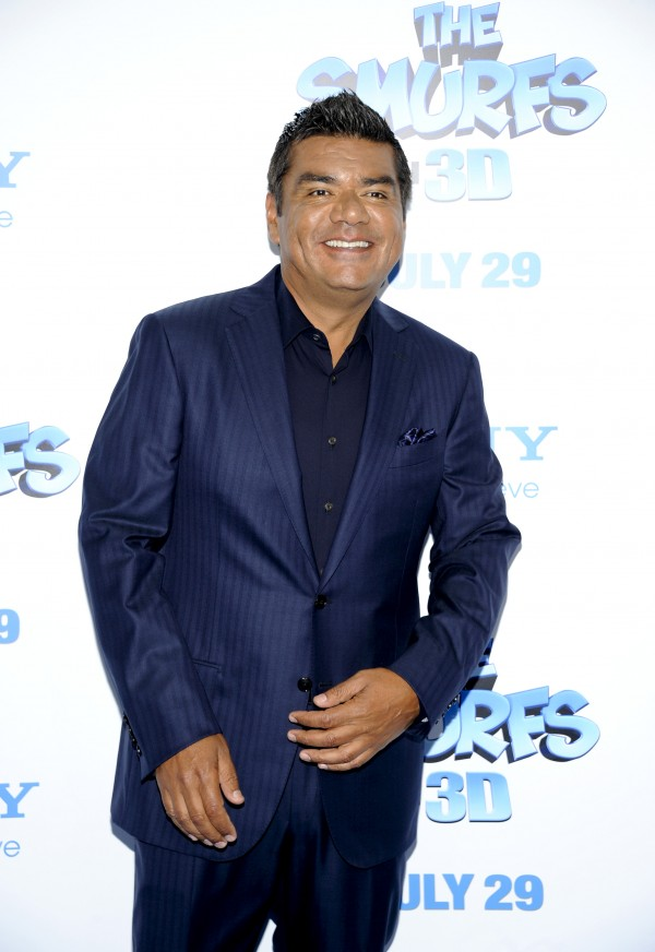 Actor George Lopez attends the premiere of &quotThe Smurfs&quot at the Ziegfeld Theatre on Sunday, July 24, 2011 in New York.