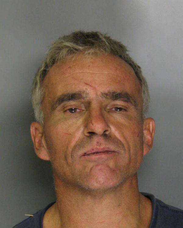 In this Aug. 11, 2011 photo provided by the Sacramento County Sheriff's Department, Marvin Lane Ussery is shown, Ussery, 48, was spotted scaling a seven foot, barbed wire chain link fence encircling a large wooded area behind California State Prison, Sacramento, late Wednesday night.