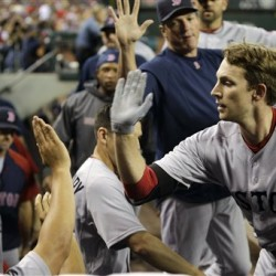 Scutaro drives in four runs as Red Sox dump Mariners