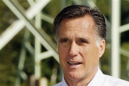 Former Mass. Gov. Mitt Romney