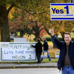 Do signatures presage marriage law repeal?