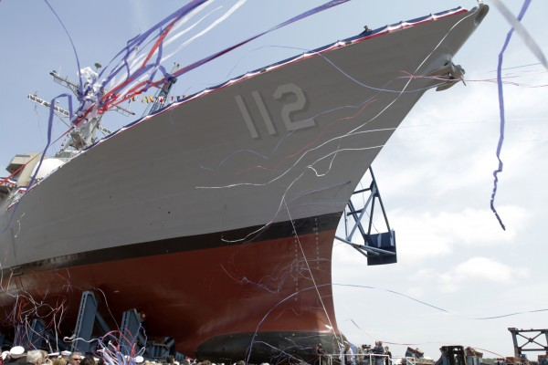 The christening of the Murphy, the last in a series of Arleigh Burke class destroyers, takes place in May at Bath Iron Works' shipyard in Bath, Maine. The Arleight Burke class of destroyer is among those being considered by the Kingdom of Saudi Arabia as the country seeks to overhaul its seaborne military.