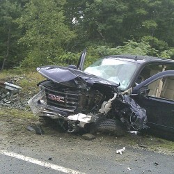 Massachusetts driver dies in head-on crash in Dedham