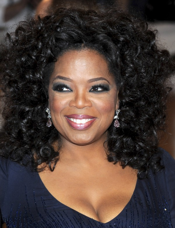 In this May 3, 2010 file photo, Oprah Winfrey arrives at the Metropolitan Museum of Art Costume Institute gala in New York.