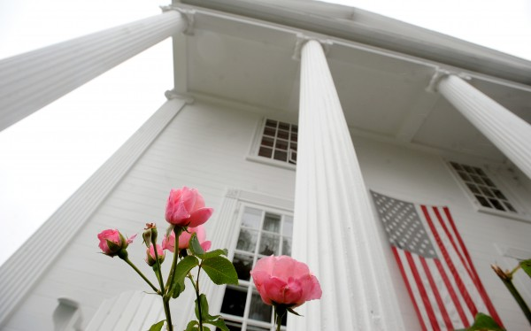 The Capt. John Brewer House in Robbinston was built in 1828 and served as the last stop in Maine of the Undreground Railroad during the 19th century.  Now the house is the home of Trond Saeverud and Joan Siem who bought it in 2001.
