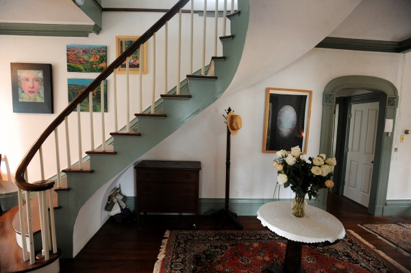 The interior of the Capt. John Brewer House in Robbinston that was built in 1828 and served as the last stop in Maine of the Undreground Railroad during the 19th century.