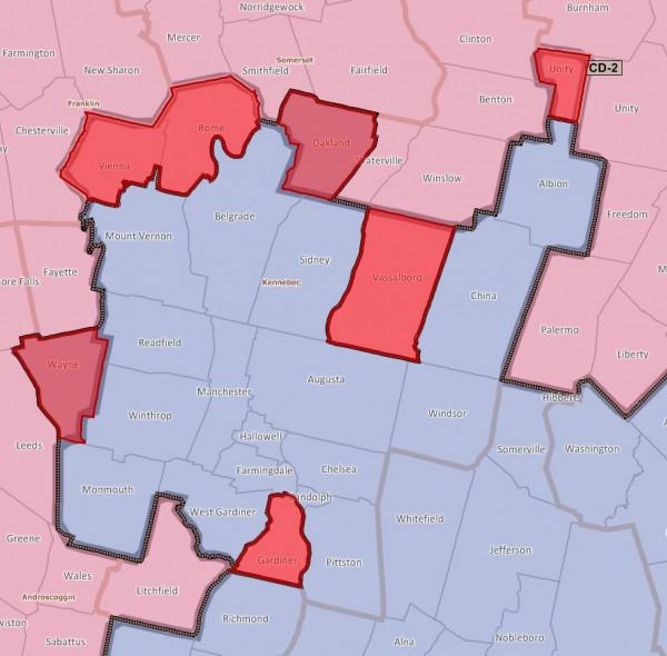 Maine Democrats' Vassalboro-Gardiner plan.