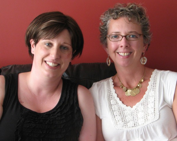 Jennifer Sewell (left) and Rori Knott (right).