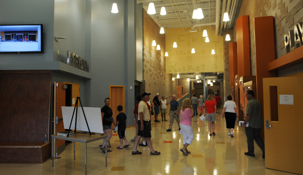 The Brewer Community School opened its doors to the public for the first time on Saturday, Aug. 20, 2011.