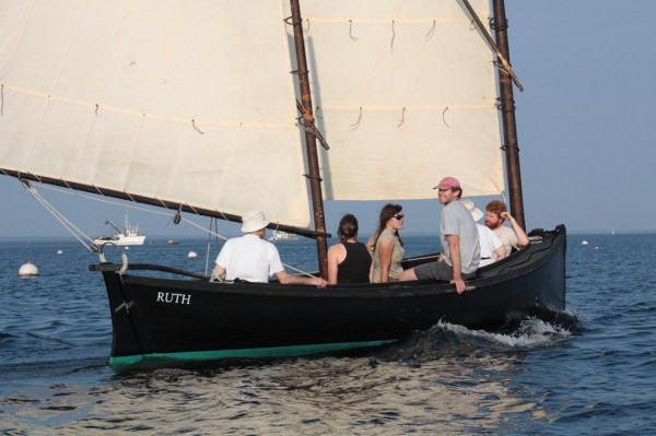 The Apprenticeshop's 25-foot Crotch Island pinky, Ruth, will be available for an evening of free sailing 6-8 p.m. Thursday, Aug. 11, in Rockland Harbor.