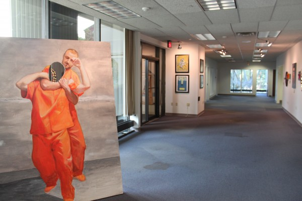 The Kaleidoscope Gallery opens its doors for the first time on Saturday, Aug. 6. KahBang Arts and Maine artists have transformed the corporate building at 1 Merchant Plaza, which will be filled with artwork through Aug. 13.
