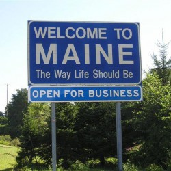 LePage's 'Open for Business' sign disappears from I-95