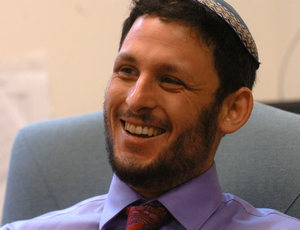 Rabbi Justin Goldstein, the newly appointed rabbi at Congregation Beth Israel in Bangor, in his office on Thursday, August 4, 2011. The conservative synagogue is Bangor's oldest synagogue.