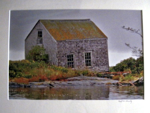 Works by photographer Neil Shively will be on display through Sept. 5 at the Thomaston Public Library.