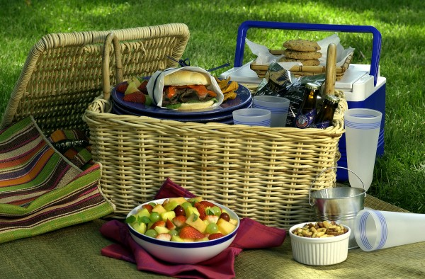 When planning a family picnic, skip buying pre-packaged foods and make your own.