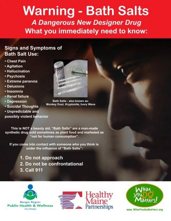 """Bath salts"" warning released — Health — Bangor Daily News — BDN"