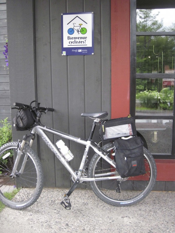 Many Quebec hotels, inns and B&Bs welcome two-wheeled travelers.