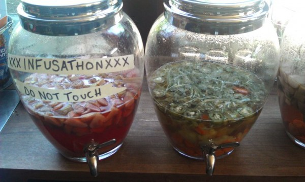 From Twenty2 Vodka's Portland Infusathon, held last June, came concoctions like Strawberry Rhubarb Tea and Lemon Infusion from Sonny's Restaurant and Carrot-Cilantro-Jalapeno from Blue Spoon.