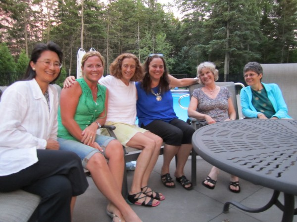 This group of Maine women spent a happy evening sharing stories of the goodness of Mainers – and others.