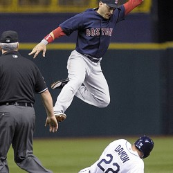 Slumping Sox fall to Rays in 11th