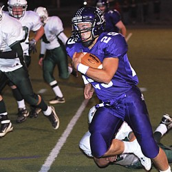 Steward's five TDs propel Hampden past MDI