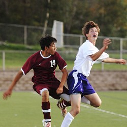 Hampden boys soccer team tops Brewer; showdown with Bangor next