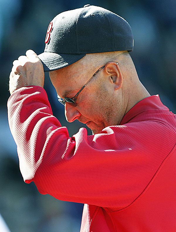 Boston Red Sox manager Terry Francona is in the final guaranteed year of his contract, and the Red Sox hold options for 2012 and 2013.