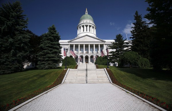 In this June 9, 2011 photo, the State House is seen in Augusta.