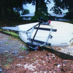 Boaters beware of flood debris lurking below the surface