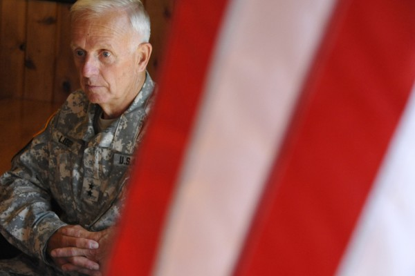 During a recent interview in Bangor, Maj. Gen. John W. Libby, Adjutant General of the Maine National Guard, reflects on Maine's response to the 9/11 attacks.