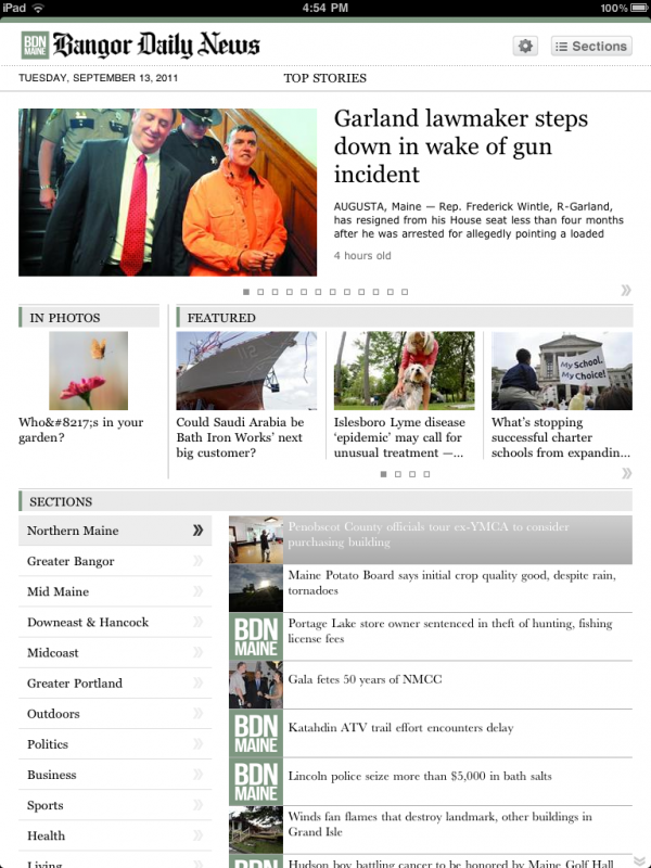 The BDN's new iPad app is now available, for free, in the App Store.