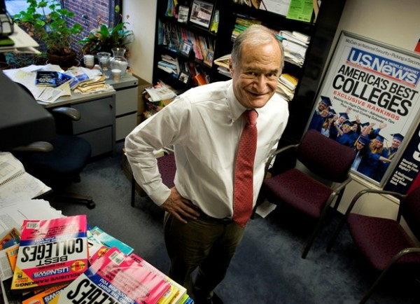 Bob Morse runs U.S. News & World Report's annual guide to American colleges, a job he has held for two decades. The annual release of the rankings, set for Sept. 13 this year, is a marquee event in higher education.