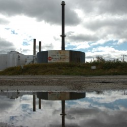 This shuttered paper mill in East Millinocket and the one in Millinocket were due to be purchased by New Hampshire investor Cate Street Capital on Friday, Sept.16.