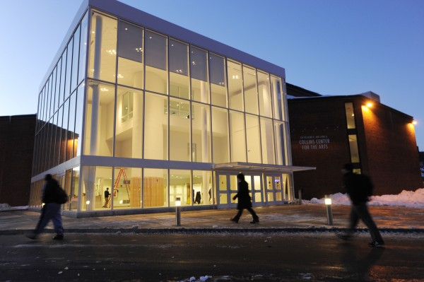 The Richard R. and Anne A. Collins Center for the Arts at the University of Maine in Orono in January 2009.