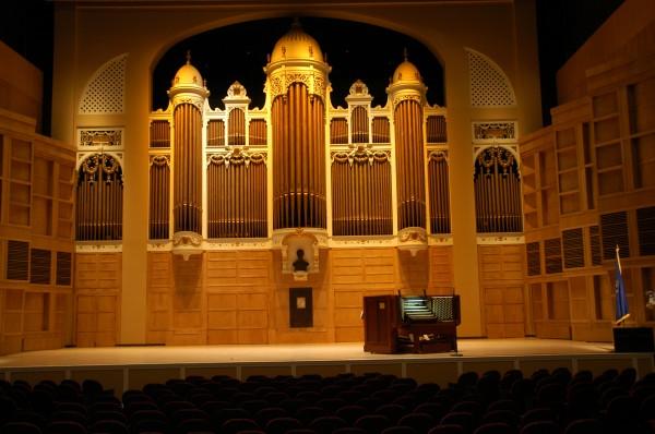 The 50-ton Kotzschmar Organ is slated to undergo $2.5 million in repairs after the Portland City Council this week approved a bond to help pay for the work. The 1912 organ has nearly 6,900 pipes and its internal wind chest could hold 92 standing people.