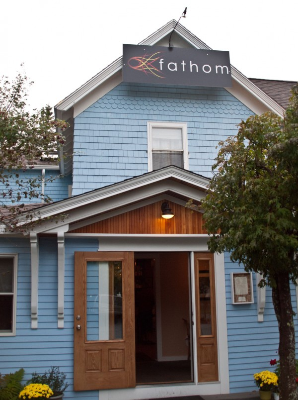 Located on Summer Street in Bar Harbor, Fathom features relaxing fine dining and plans to be open year-round.