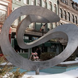 Bangor panel approves moving West Market Square sculpture