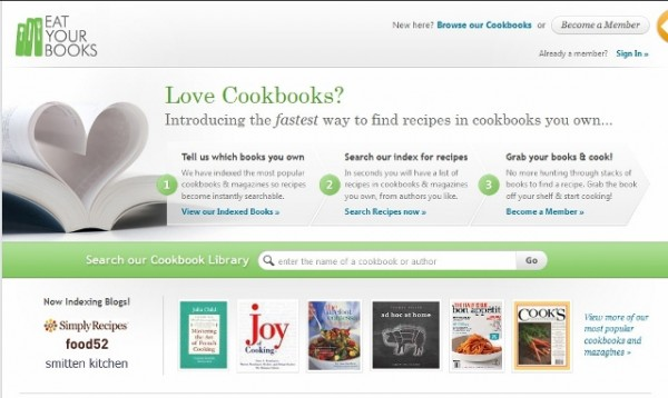 Some websites, like Eat Your Books, allow you to search the indexes of virtually every cookbook out there.
