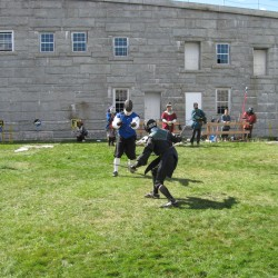 Medieval society lays siege to Fort Knox