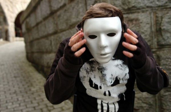 Keith Richards Jr., 16, of Garland adjusts his mask for his role as The Punisher at the eighth annual Fright at the Fort in October 2007 at Fort Knox in Prospect. This year's event will take place from 5:30 to 9 p.m. Oct. 21-22 and Oct. 28-29 at Fort Knox State Park in Prospect. Admission is $5 for a night of Halloween fun.